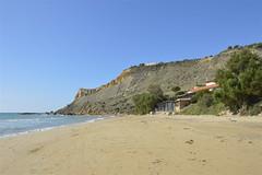 Capo Rossello: spiaggia deserta (costagar51) Tags: italy italia mare natura sicily sicilia agrigento realmonte anticando