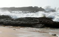 moroccan coast big waves (6) (kexi) Tags: ocean africa sea white water canon coast march big rocks waves atlantic morocco foam maroc huge atlanticocean 2015 maroko instantfave oualidia