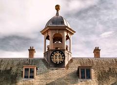 Belton Clock 1022 (saxonfenken) Tags: 6807house 6807 clock two chimneys windows thechallengefactory pregamewinner friendlychallenges challengeyouwinner challengeyou gamewinner perpetual
