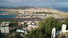 View towards Gibraltar airport and La Linea (pilsnerjohan) Tags: airport spain january gibraltar spanien januari lalinea 2016 lalneadelaconcepcin pilsnerjohan