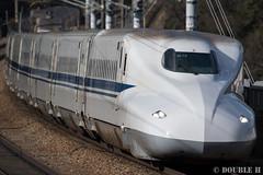 JR West N700-5000 series set K14, aside Otsu Tunnel (double-h) Tags: train  shinkansen superexpress jrwest  jr  sanyoshinkansen  n700series akocity  eos7dmarkii ef100400mmf4556lisiiusm n7005000 n7005000series setk14 k14 otsutunnel