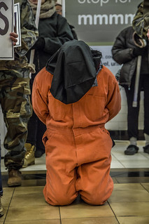 Guantánamo Detainee in Union Station Food Court