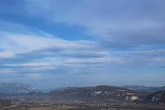 """""""Il y a toujours un coin de ciel bleu pour qui le veut."""" (Justine_r.photographie) Tags: sky cloud montagne bleu ciel nuage hauteur"""