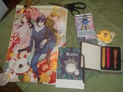 BetoyoBox December (Amane-chan) Tags: anime poster box no card totoro sakura bento cardcaptorsakura bentou neighbor kero ccs tonarinototoro subscription yato captor tonari hiyori yukine keroberous noragami betoyo betoyobox betoyobento