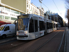 GVBA tram 2091 Amsterdam Rembrandtplein (Arthur-A) Tags: netherlands amsterdam nederland tram armin streetcar tramway strassenbahn electrico tranvia gvb combino tramvia gvba