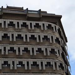 Edificio Franjinhas | Prmio Valmor 1971 #1 (TheManWhoPlantedTrees) Tags: architecture concrete 1971 lisboa lisbon beto franjinhas arquitecturaportuguesa prmiovalmor teotniopereira ruabraancamp nikond3100 tmwpt joobraulareis