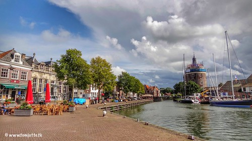 Oude Haven, Drommedaris, Enkhuizen, Netherlands - 3068