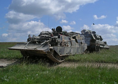 T.J. Neate Copyrighted Photograph (Neatescale) Tags: britisharmy salisburyplain tanks spta crarrv challengerarrv 40regtra