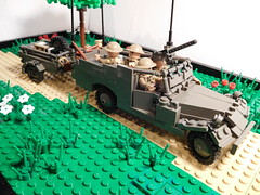 M3A1 Scout Car Tentacle Station (FirstInfantry) Tags: lego ww2 scoutcar m3a1 brickarms