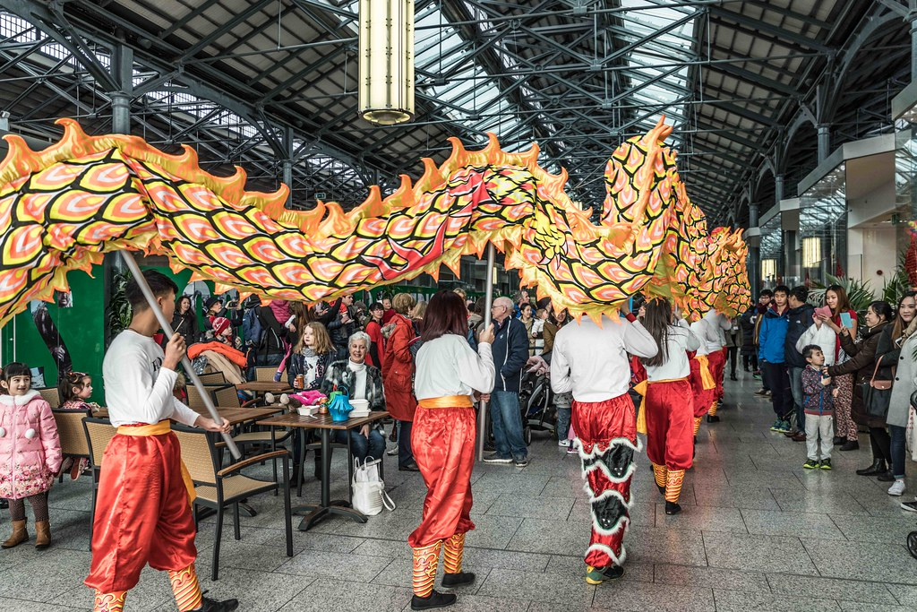 CHINESE COMMUNITY IN DUBLIN CELEBRATING THE LUNAR NEW YEAR 2016 [YEAR OF THE MONKEY]-111568