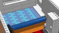 LEGO Large Scale Caravan Interior (RS 1990) Tags: vintage lego interior large retro features trailer caravan rv camper moc ldd digitaldesigner
