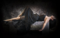 sleeping beauty in black (PKub) Tags: people black colors hair photography grey photo clothing nikon dress legs image leg picture bein grau shooting dominique names bild schwarz beine farben humanbody haare kleidung womensclothing namen kleid 2015 frauenkleidung menschlicherkrper pkub pkubimages pkubimagesgmailcom