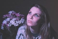 true space facts (subsidium) Tags: flowers selfportrait self fluorescent