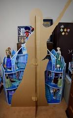 Rey Lifesize Standup - Amazon Purchase - Assembled - Rear View (drj1828) Tags: cutout us starwars amazon cardboard rey lifesize standup theforceawakens