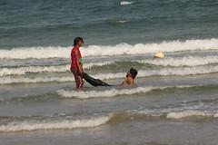 drowned in love (aviky2k) Tags: sea beach couple day play celebrations valentines visa rk vizag visakhapatnam rushikonda yarada