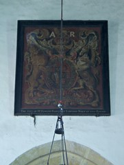 Royal Arms of Queen Anne, Weston sub Edge (Aidan McRae Thomson) Tags: church painting gloucestershire royalarms westonsubedge