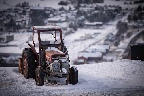 Bokeh Tractor