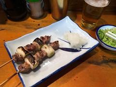 Chicken skewers #1 from Hosaka @ Shinbashi (Fuyuhiko) Tags: from chicken tokyo  skewers shinbashi      hosaka
