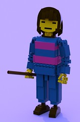 Frisk 2 (pb0012) Tags: game video lego character human indie videogame frisk ldd indiegame undertale friskundertale