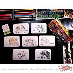 Ist das nicht zuckersüß? Ein ganzer... (wandklex Ingrid Heuser freischaffende Künstlerin) Tags: dog art watercolor kunst hund bordercollie etsy aussie australianshepherd watercolours aquarell malerei welpen handgemalt dogbreed etsyshop hundezucht australienshepard miniaussies auftragskunst auftragsmalerei agili miniaussi wandklex uploaded:by=flickstagram bordercolliesofinstagram instagram:venuename=bahnhofratzeburg instagram:venue=51075171 etsyresolutionde hahnem instagram:photo=11871183082931514331487357881 australianshepherdsofinstagram miniaussiesofinstagram