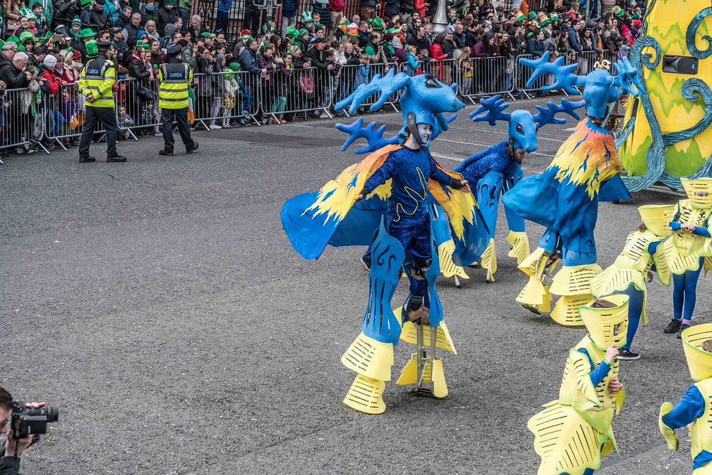 Dowtcha Puppet's At The St.Patrick's Parade [Dublin 2016]-112502