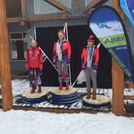 BC Games 2016 Apex Sunday Ladies' podium