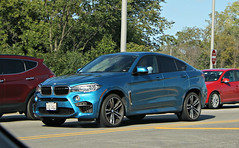 BMW X6 M (F16) (RudeDude2140a) Tags: blue sports car m f16 exotic bmw suv x6