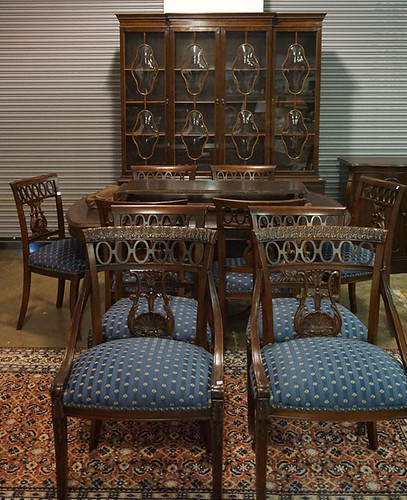 Table & Ten Chairs $412.50 - 10/23/15