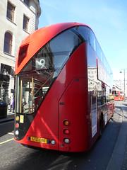 London United LT86 (Welsh Bus 16) Tags: london strand routemaster wright tfl transportforlondon londonunited raptgroup lt86 ltz1086