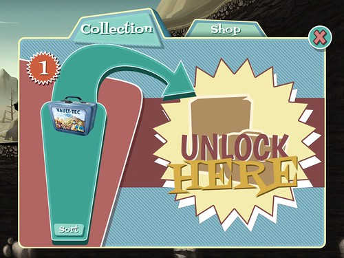 Fallout Shelter Chests: screenshots, UI