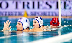 FINA Men's Water polo Olympic Games Qualifications Tournament 2016 - Trieste (ITA) (fina1908) Tags: blue italy white men fina ita trieste waterpolo olympicgames qualification 2016 pallanuoto tournament2016 7khalturinrus6krasnovrus