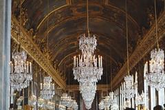 La galerie ... (LucieLune) Tags: paris france versailles chteau patrimoine chateaudeversailles galeriedesglaces