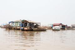 Floating Village on the Tonl Sap (amanda & allan) Tags: cambodia tonlsap
