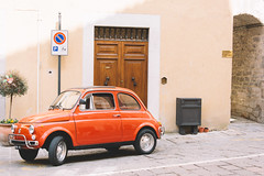 500 (lorenzoviolone) Tags: italy vintage reflex nikon vintagecar fiat vehicle 500 dslr marche fiat500 400h fav10 fav25 visso vsco d5200 nikond5200 vscofilm trip:umbria=easter2016