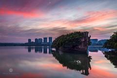 SS Airfield Shipwreck (Brian Bornstein) Tags: clouds sunrise boats cityscape sydney pastels nsw canon6d ssayrfield brianbornstein