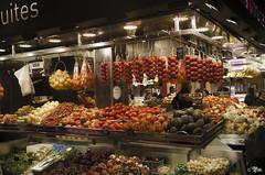 Boqueria11 (Il__Pelle) Tags: barcelona espaa spain nikon mercado boqueria barcellona spagna vegetales mercat verdura