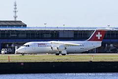 Swissair Avro RJ100 ~ HB-IXS