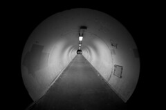 Tunnel (akarakoc) Tags: white black canon streetphotography tunnel fisheye 15mm f28 ef canoneos5dmarkiii 5dmark3
