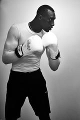 The champ  I (johann walter bantz) Tags: portrait black paris france monochrome sport training blackwhite nikon europe 85mm boxer boxing boxe entrainement pantin clubdeboxe nikond4s