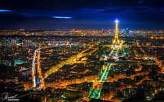 Top of Paris | Montparnasse Tower (bucketpong) Tags: paris france reflection tower long exposure sony eiffel montparnasse a7ii