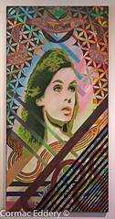 grave situation (cormaced) Tags: color colour art lines artwork stencil gravity ratio shrimpton