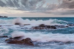 Avalon rocks (FPL_2015) Tags: ocean seascape water landscape rocks waves sydney australia nsw avalon northernbeaches leefilter canon70200f4lis canon6d gnd09
