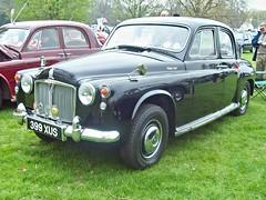 398 Rover 100 P4 (1961) (robertknight16) Tags: rover british 1960s weston wilkes p4 bashford 399xus