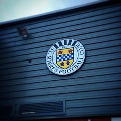 The Paisley Saints #stmirren #PositivePaisley #football #badge (paisleyorguk) Tags: scotland paisley regressive instagram ifttt