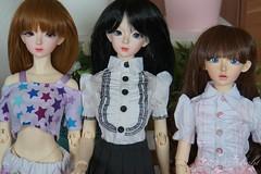 MY SD girls (SteffiDollies) Tags: kid hybrid eileen alina celine mytsic feeple mirodoll feeple60