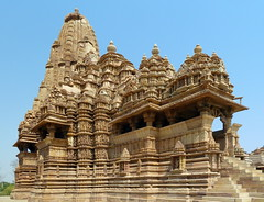 India - Madhya Pradesh - Khajuraho - Khajuraho Group Of Monuments - Kandariya Mahadeva Temple - 218 (asienman) Tags: india khajuraho madhyapradesh khajurahogroupofmonuments asienmanphotography