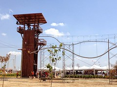 It's there: the Rollercoaster Zipline #rollercoaster #zipline #zipwire http://j.mp/1oMr3iF (Skywalker Adventure Builders) Tags: design high construction course ropes zipline zipwire skywalker hochseilgarten waldseilpark klimpark klimbos
