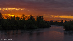 Willamette River sunset (Tri Minh) Tags: sunset oregon river willametteriver willamette