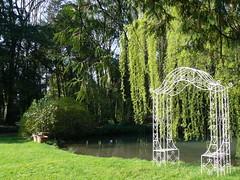 villa Elodia, Park 1a/2 (AnnAbulf) Tags: park parco weide villa teich fvg laghetto salice weiher friuliveneziagiulia friauljulischvenetien trivignanoudinese trivignn