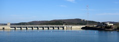 Viewing the dam from the showboat (krisknow) Tags: missouri branson tablerockdam